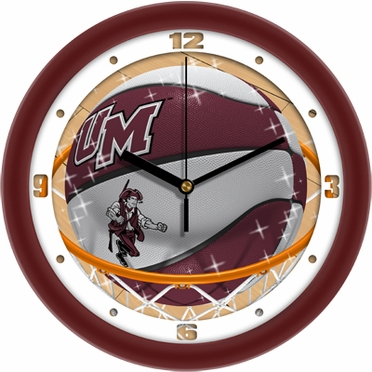 Umass Slam Dunk Wall Clock