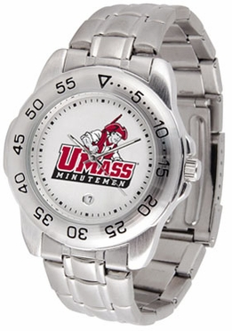 Umass Sport Men's Steel Band Watch