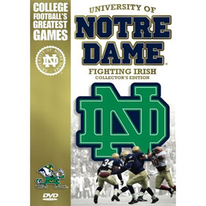 University of Notre Dame Fighting Irish DVD