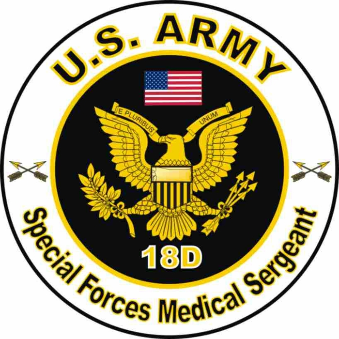 Army MOS 18D Special Forces Medical Sergeant