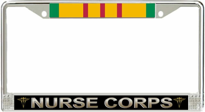 Us Army Nurse Corps Vietnam Veteran License Plate Frame