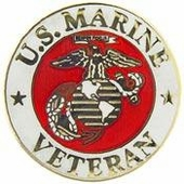 US Marines Lapel Pins