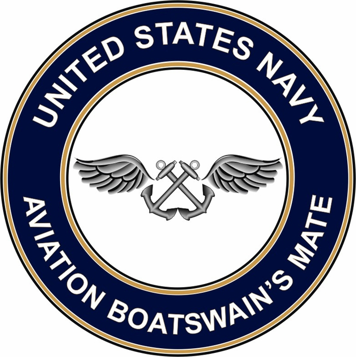 US Navy Aviation Boatswain's Mate AB decal