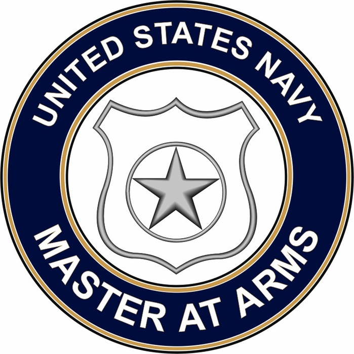 US Navy Master at Arms MA decal