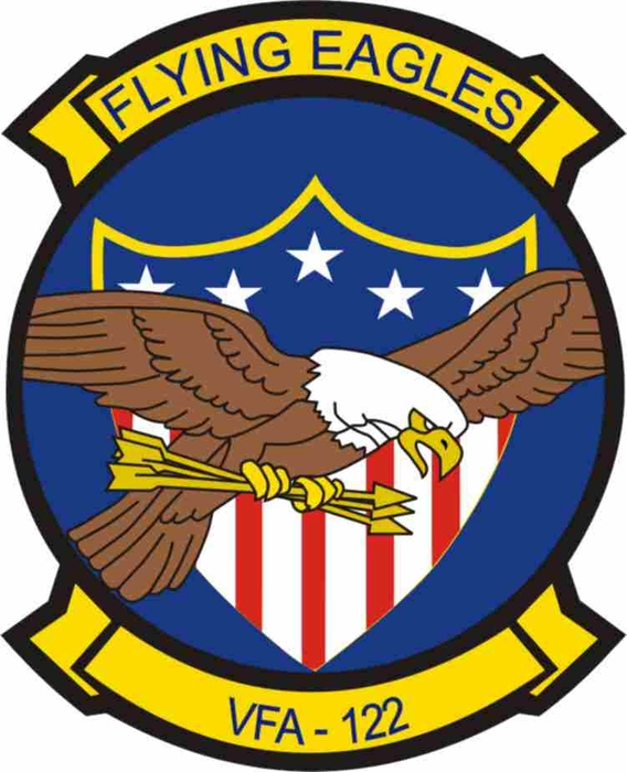 Us Navy Vfa 122 Flying Eagles Patch Decal