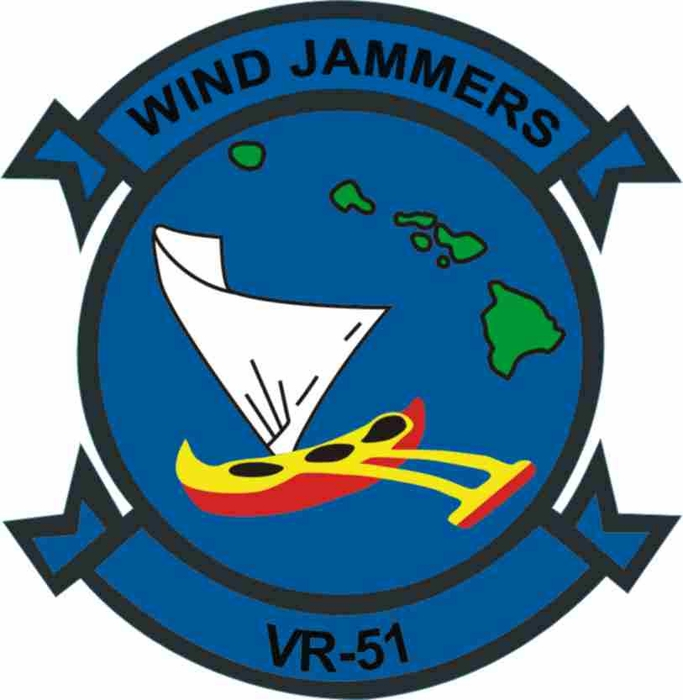 Us Navy Vr 51 Wind Jammers Patch Decal