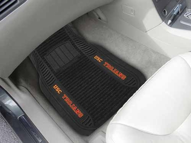 USC 2 Piece Heavy Duty DELUXE Vinyl Car Mats