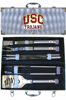 USC 8pc. BBQ Set w/Case