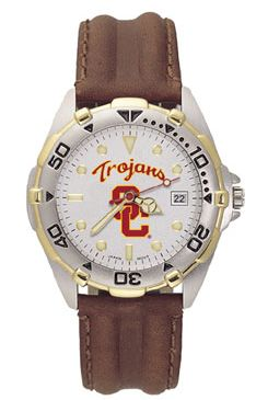 USC All Star Mens (Leather Band) Watch