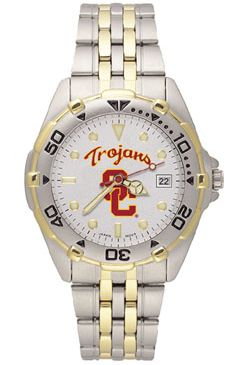 USC All Star Mens (Steel Band) Watch