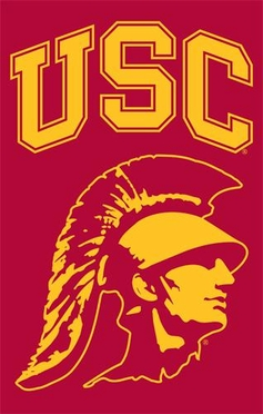 USC Applique Banner Flag