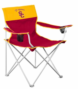 USC Big Boy Adult Folding Logo Chair