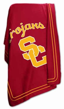 USC Classic Fleece Throw Blanket