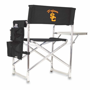 USC Embroidered Sports Chair (Black)