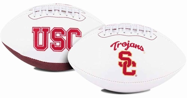 USC Trojans Full Size Embroidered Signature Football