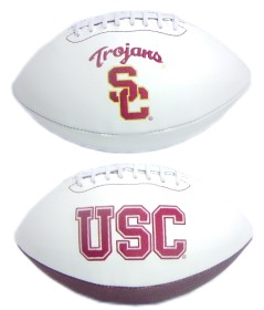 USC Full Size Embroidered Football