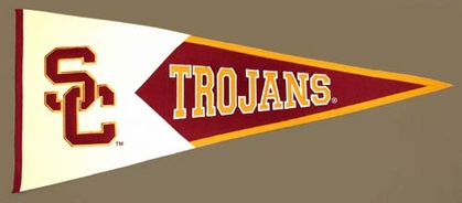 USC Large Wool Pennant