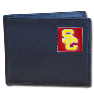 USC Leather Bifold Wallet (F)