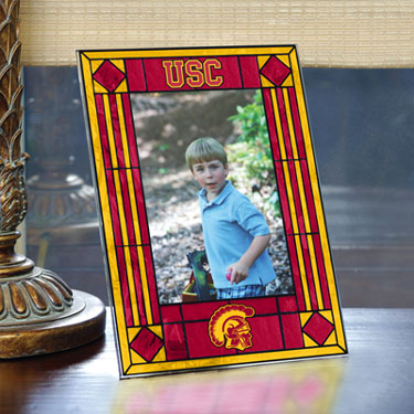 USC Portrait Art Glass Picture Frame