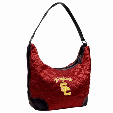 USC Quilted Hobo Purse