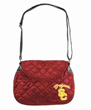 USC Quilted Saddlebag
