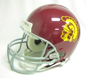 USC Trojans Riddell Full Size Authentic Helmet