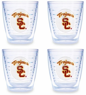 USC Set of FOUR 12 oz. Tervis Tumblers
