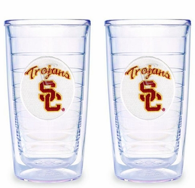 USC Set of TWO 16 oz. Tervis Tumblers