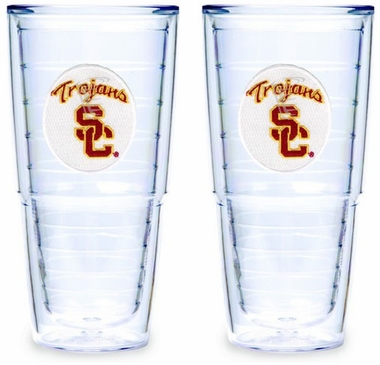 USC Set of TWO 24 oz. Tervis Tumblers