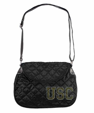 USC Sport Noir Quilted Saddlebag
