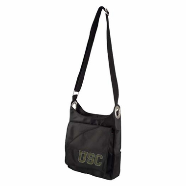 USC Sport Noir Sheen Crossbody Bag