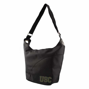 USC Sport Noir Sheen Hobo Purse