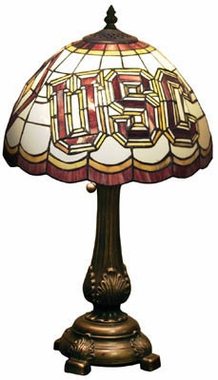USC Stained Glass Table Lamp