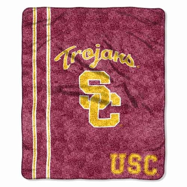 USC Super-Soft Sherpa Blanket