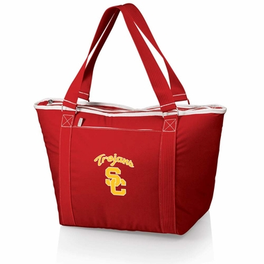 USC Topanga Embroidered Cooler Bag (Red  )
