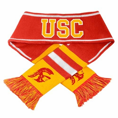 USC Trojans NCAA 2013 Team Wordmark Knit Scarf