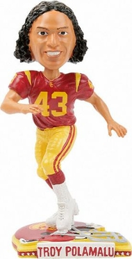 USC Troy Polamalu Back To School Bobblehead
