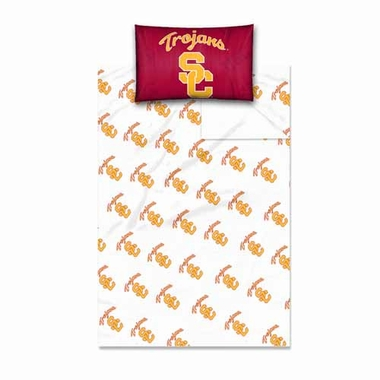 USC Twin Sheet Set