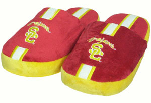 USC YOUTH Team Stripe Slide Slippers
