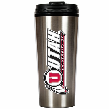Utah 16 oz. Thermo Travel Tumbler