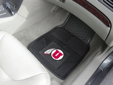 Utah 2 Piece Heavy Duty Vinyl Car Mats