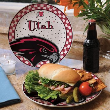Utah Gameday Ceramic Plate