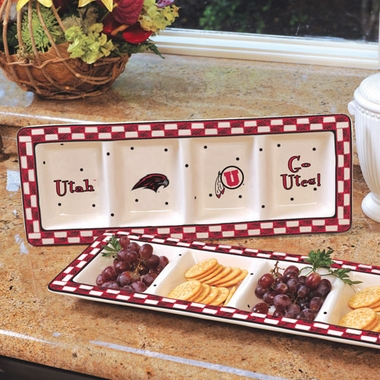 Utah Gameday Relish Tray