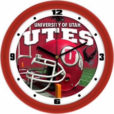 Utah Helmet Wall Clock
