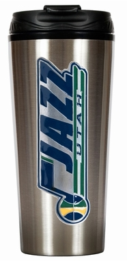 Utah Jazz 16 oz. Thermo Travel Tumbler