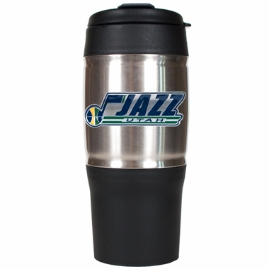 Utah Jazz 18oz Oversized Travel Tumbler