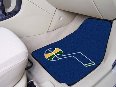 Utah Jazz 2 Piece Car Mats