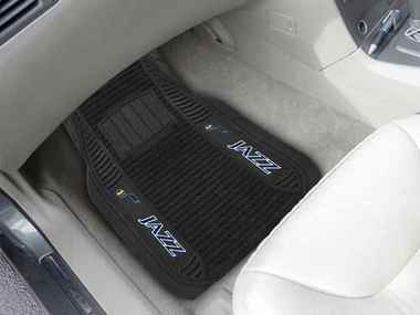 Utah Jazz 2 Piece Heavy Duty DELUXE Vinyl Car Mats