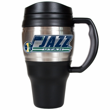 Utah Jazz 20oz Oversized Travel Mug