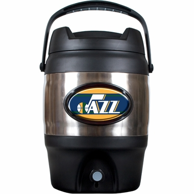 Utah Jazz 3 Gallon Stainless Steel Jug
